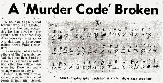 Hardens crack the Zodiac code