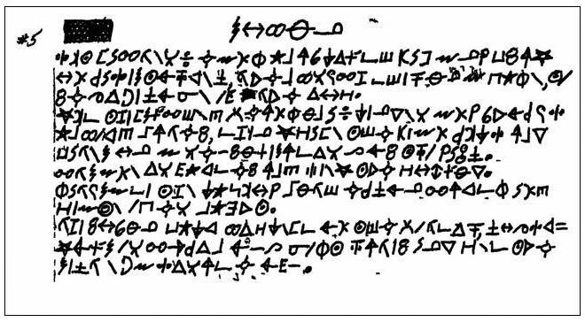 Zodiac Killer Ciphers – Page 7 – Can you help solve the codes?